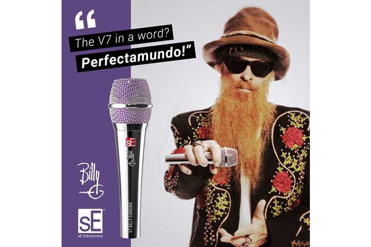 Se Releases Billy Gibbons Signature Edition V7