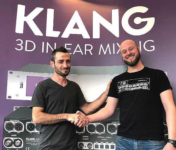KLANG:technologies appoints Israeli distributor