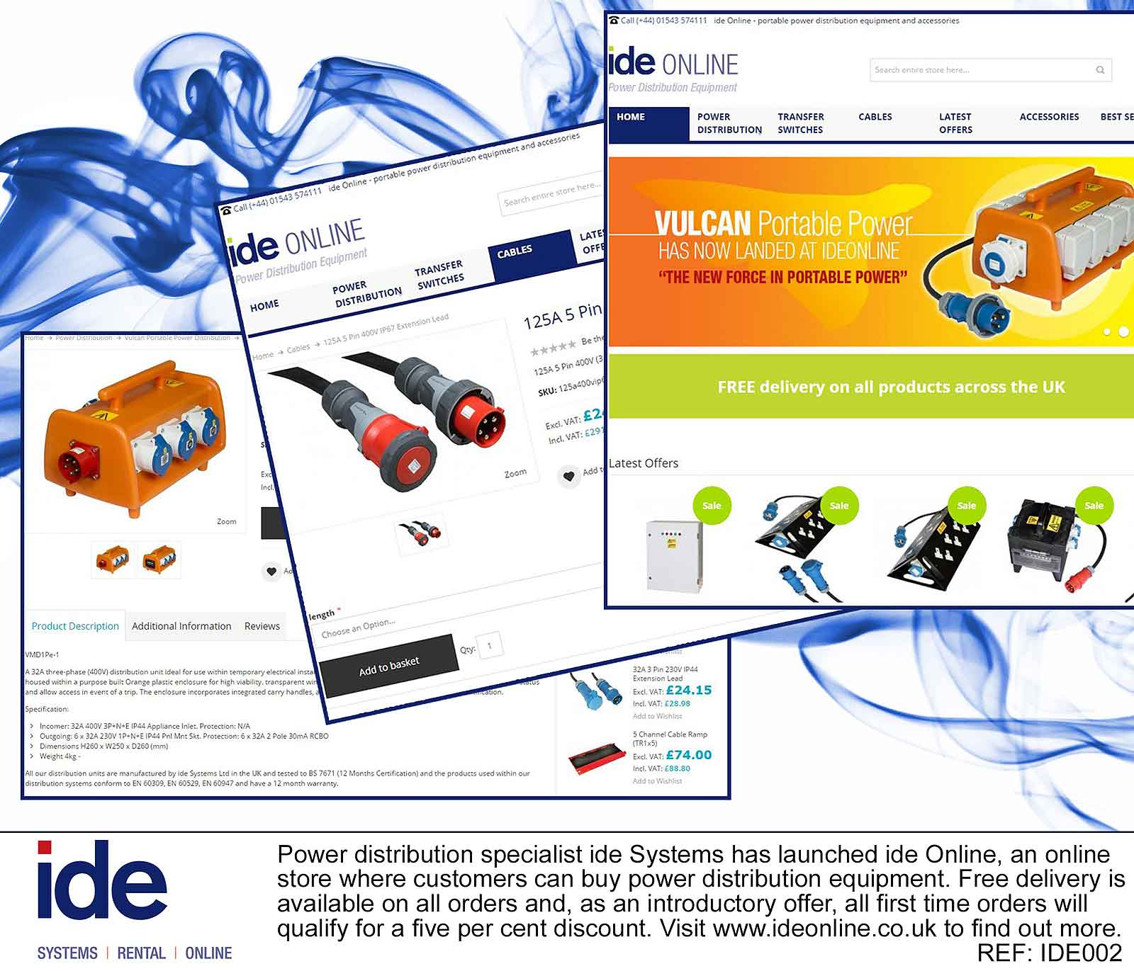Ide systems opens new online shop for New online shoping site