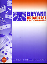 Bryant Broadcast launches Catalogue Issue 8
