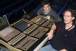 DiGiCo SD8 at FOH for <I>Tommy</I> tour