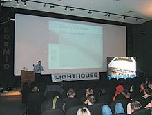 Lighthouse meeting enjoys spectacular setting