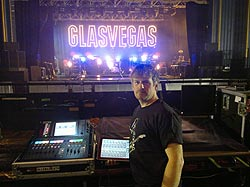Glasvegas on the road with iLive digital