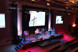 Entec LED solution for Vineyard Church