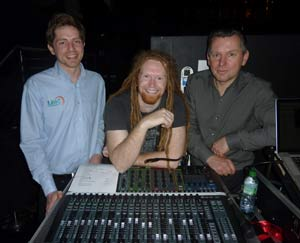 Soundcraft on the road with Newton Faulkner
