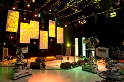 PG Stage creates TV studios for Middlesex University