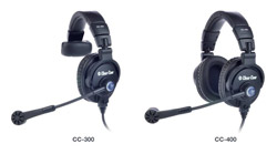 Clear-Com launches new CC-300 and CC-400 headsets