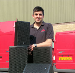 Stage Sound Services boosts EM inventory