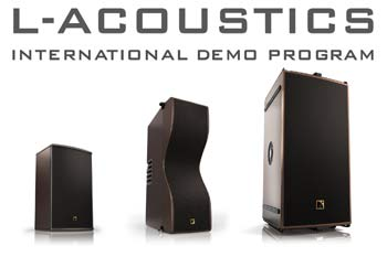 L-Acoustics launches demo programme